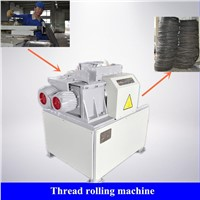 Henan Zhongying Tire Recycling Plant- Thread Rolling Machine