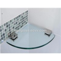 10mm Tempered Bathroom Glass Shelf