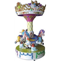 2015 hot sale kids carousel rides amusement game machine