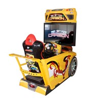 "42""LCD Need of speed arcade coin operated car  racing game electric machine"