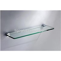 Hot Sale Bathroom Single Glass Shelf