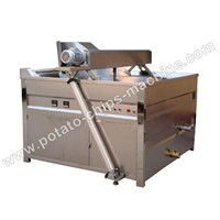 Electric Potato Chips Frying Machine
