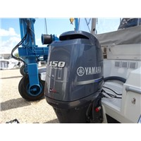 Used Yamaha 150 HP 150hp 4 Stroke Outboard Motor Engine
