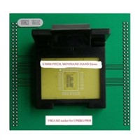 VBGA162p MOVINAND iNAND EMMC memory adapter for up-818 up-828p