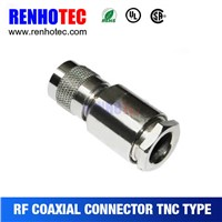 crimp tnc connector electrical male plug connector for cable assembly