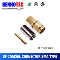 Alibaba Online Shopping SMA Male Crimp Electronic Cable Wiring SMA Connectors