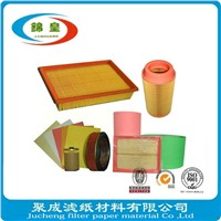 Auto Air Filter Paper With High Quality Wood Pulp