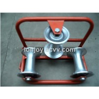 Cable protect roller, Aluminum and nylon cable pulley