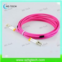 LC/LC Zipcord OM4 Fiber Patch Cord