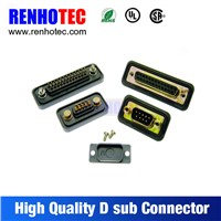 D-SUB connector in terminal blocks / D-SUB Adapter with UL CE FCC certificated