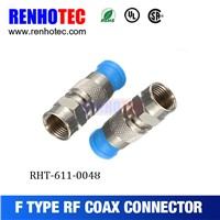 UL RoHS certification approved male f connector compression rg59 coaxial cable