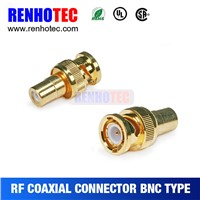 high quality male bnc connector rf coaxial connector