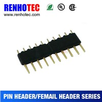 4.4*1.778mm Pitch Electrical Header 10 Pin Connector UL CE ROHS