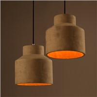 cement chandelier & pendant light with CE, RoHs, energy saving
