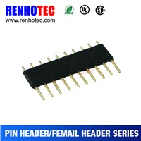 Pitch 4.5*1.778mm Single Layer Single Row Straight Solder Pin Header