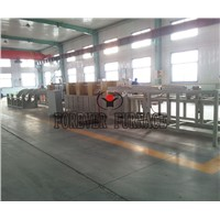 Steel billet hardening and tempering equipment