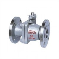 2PC Casting Steel Flange Ball Valve