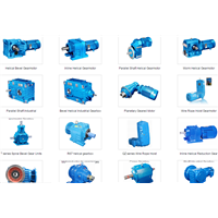 Professional Gear Speed Reducer from 26 Year Gears Manufacturer