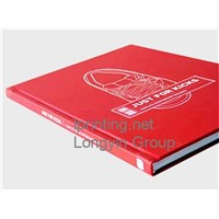 Leather Case Hardcover Book Printing,Hardcover Novel Printing