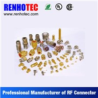 OEM ODM PCB Mount Male and Female BNC SMA F TNC N Cable RF Connectors for Multi Wires