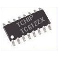 Remote control IC TC6122X with NEC 6122 wave form