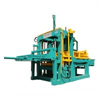 Zambia hollow block press machine