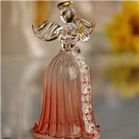 Beautiful Glass Angel Bell Home Decoration Fashion Friend Gift Glass Angel Christmas Angel Bell