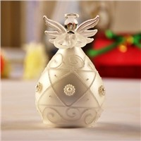 New Style Glass Angel with Diamonds Ornaments Fashion Firend Gift Handmade Glass Angel