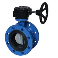 Center line flange butterfly valve
