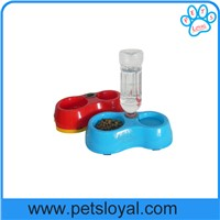 China Factory Dual Port Dog and cat Automatic water Feeder Utensils Bowl