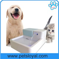 Pet Drinking Fountain Water Bowel Feeder LED Light China Factory