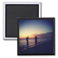 Customized Sintered Ferrite Photo Magnet