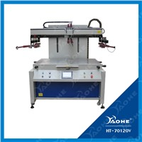 flatbed printing machine electric screen printer