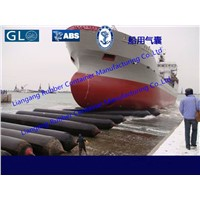 ship launching airbags, marine airbags