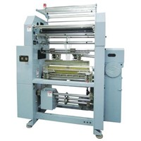 Double Needle Bed Warp Knitting (Raschel) Machine