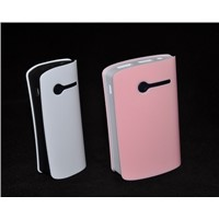 2015 Hot Selling Colorful Lithium Polymer Power Bank with LED Charging Indicator
