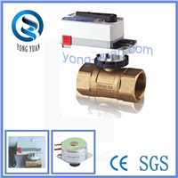 3-Port Electric Ball Valve Motorized Valve for Air Conditioner (BS-878)