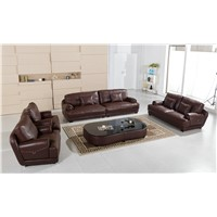 U. K. Modern Living Room Furniture Genuine Leather Sofa AL703