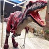 Zigong realistic dinosaur costume suit for game on playground amusement equipment