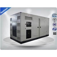375Kva White Three Phase Silent Diesel Generator Set With Water Cooling System