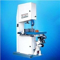 Auto feeding woodworking band saw
