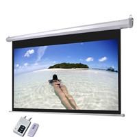 Electric Projection Screens With RF/IR Remote Control