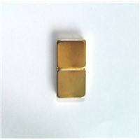 N45 Neodymium Magnet with Ni-Gold Coating