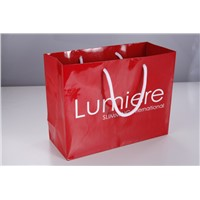 luxury black paper shopping bag