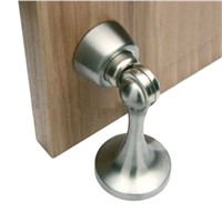 Magnetic Door Stop Stopper Holder Satin Black/Brass/Chrome