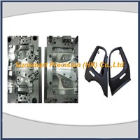 Precision air outlet panel plastic molding