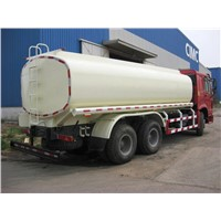 SINOTRUK HOWO 6x4 Fuel Tank Truck with flat roof long cab 336HP, 20CBM
