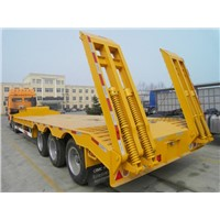16m Low bed semi-trailer with 60t capacity