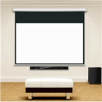 72inch, 84inch, 100inch High Gain Electric Projector Screen Fixed Motorized Screens