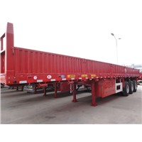 Flatbed Cargo Semi-trailer 40t-60t